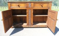 Reproduction Oak Carved Sideboard Base